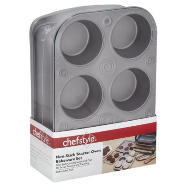Chef Style Non Stick Toaster Oven Bakeware Set