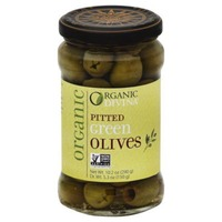 Divina Organic Pitted Green Olives