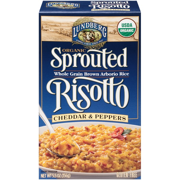 Lundberg Family Farms Organic Cheddar & Peppers Sprouted Risotto
