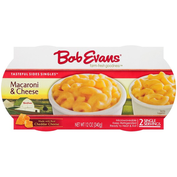 Bob Evans Macaroni & Cheese ID 0584 Refrigerated Singles