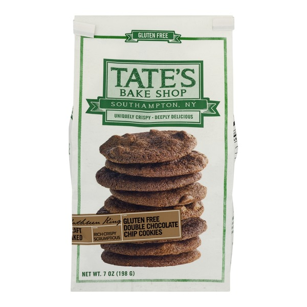 Tate's Bake Shop Gluten-Free Double Chocolate Chip Cookies