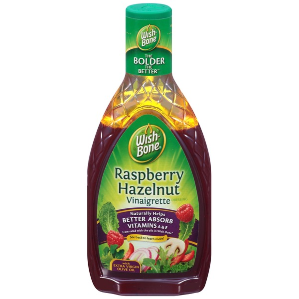Wish-Bone Raspberry Hazelnut Vinaigrette Salad Dressing