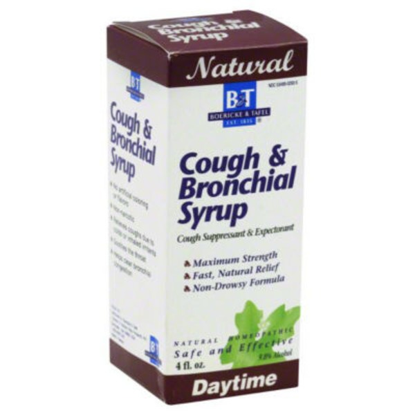 B&T Cough & Bronchial Syrup, Maximum Strength, Daytime