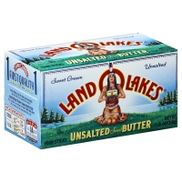 Land O Lakes Unsalted Butter Quarters