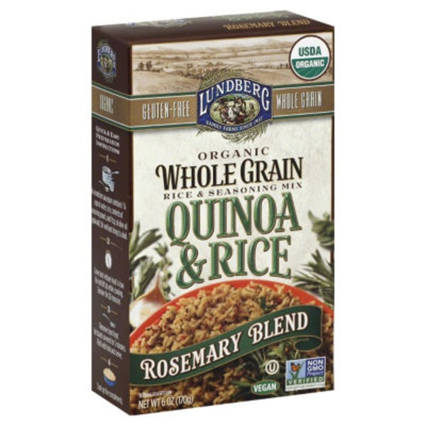 Lundberg Family Farms Organic Whole Grain Rosemary Blend Quinoa & Rice