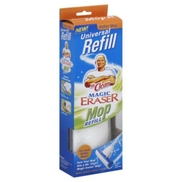 Mr  Clean Magic Eraser Roller Mop Refill