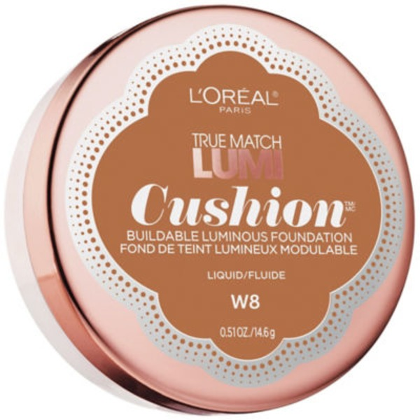 True Match Lumi Cushion W8 Creme Cafe Foundation