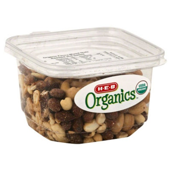 H-E-B Organics Mix Nuts Roasted And Salted