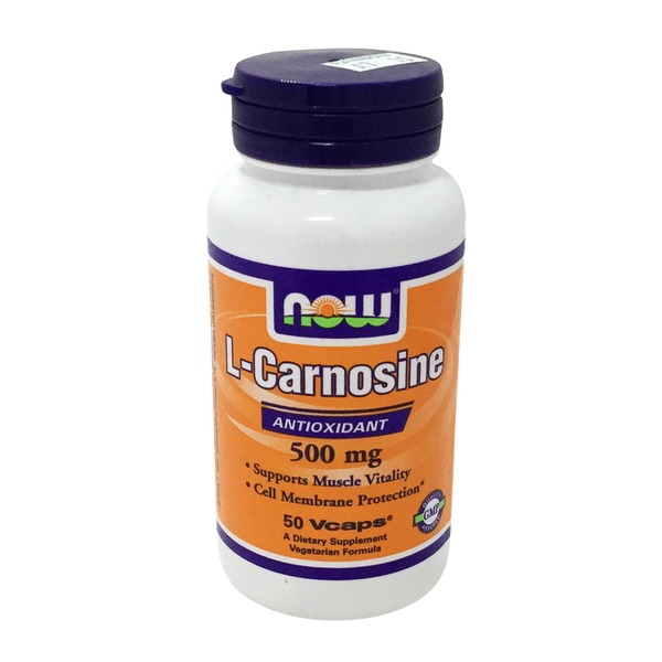 Now L Carnosine 500 Mg