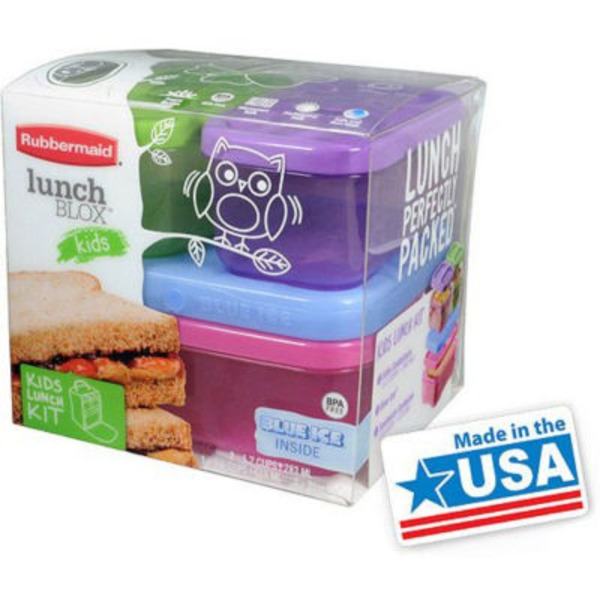 Rubbermaid Lunch Blox for Kids - 4 CT
