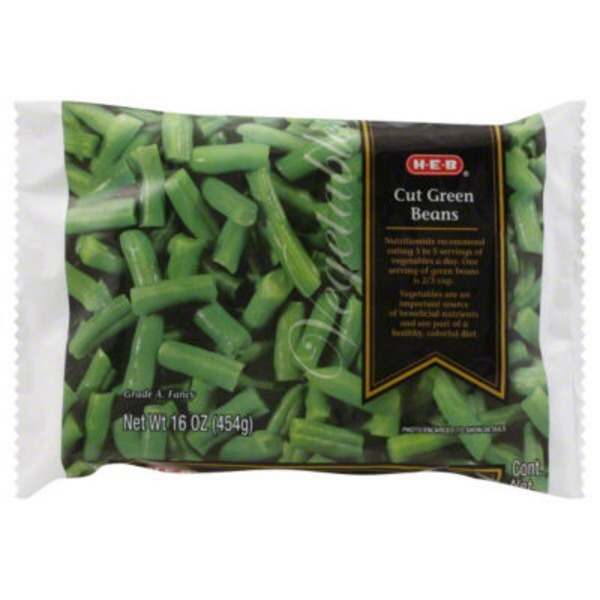 H-E-B Frozen Cut Green Beans