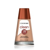 COVERGIRL Clean Makeup Foundation, Classic Beige 130, 1 oz