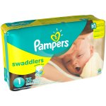Pampers Swaddlers Diapers, Size 1, 35 Diapers