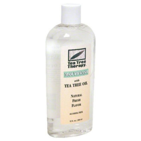 Tea Tree Therapy Alcohol Free Mouthwash With Tea Tree Oil