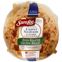 Sara Lee Lower Sodium Oven Roasted Chicken Breast, Deli Sliced