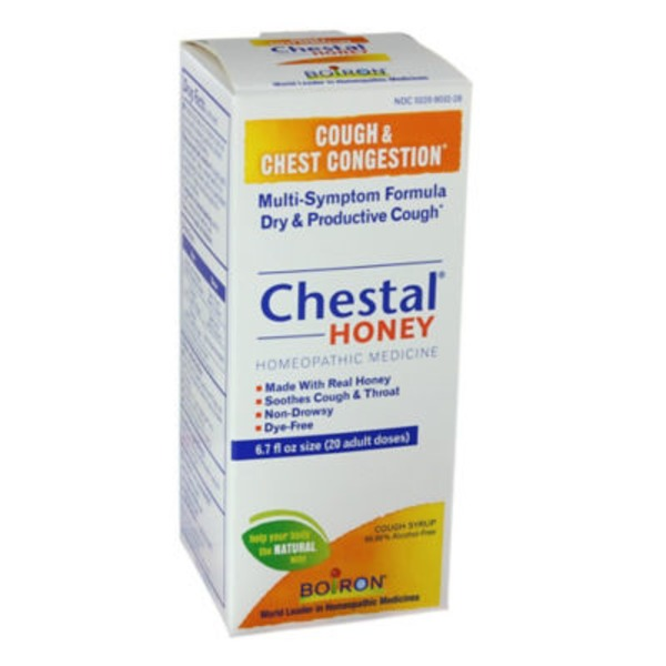 Boiron Cough & Chest Congestion Chestal Honey Cough Syrup