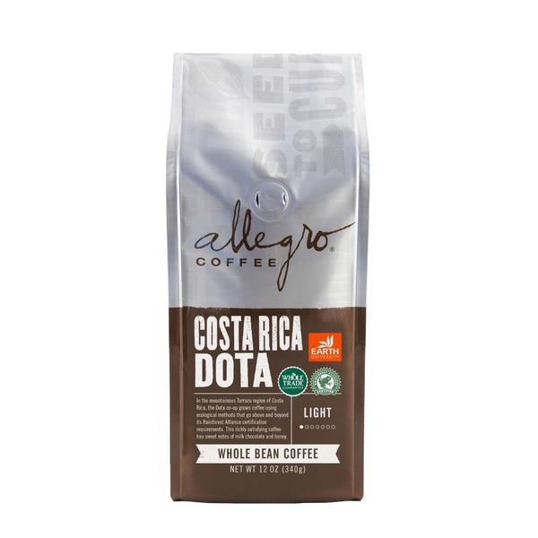 Allegro Whole Bean Costa Rica Dota Coffee