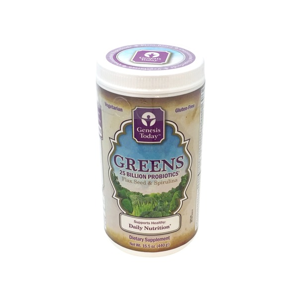 Genesis Today Flax Seed & Spirulina Greens Dietary Supplement