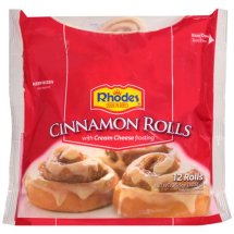 Rhodes Frozen Cinnamon Rolls w/Cream Cheese Frosting,12 ct