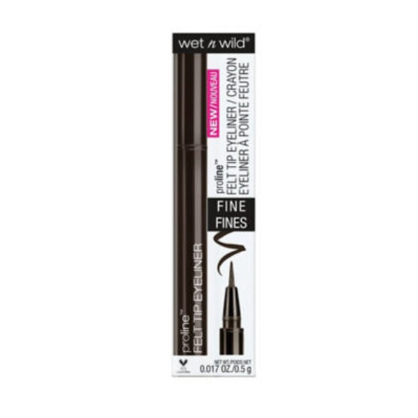 Wet n' Wild Proline Felt Tip Eyeliner Fine 876B Dark Brown