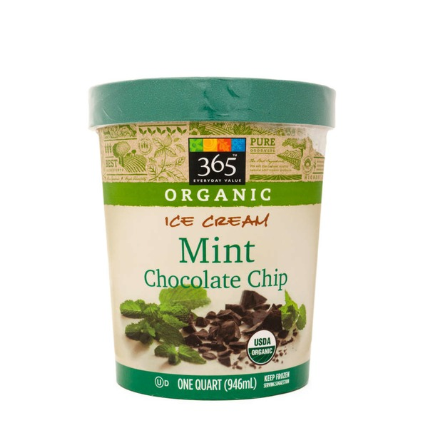 365 Organic Mint Chocolate Chip