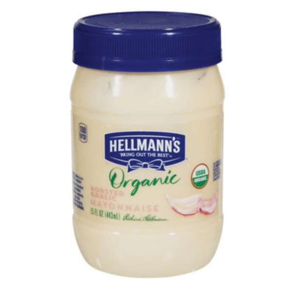 Hellmann's Roasted Garlic Mayonnaise