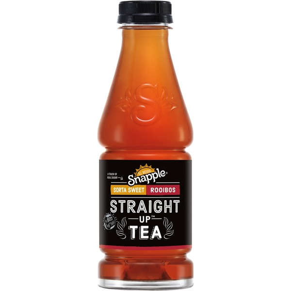 Snapple Straight Up Tea Sorta Sweet Rooibos Tea