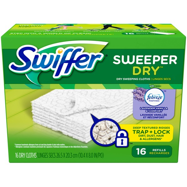 Swiffer Sweeper Dry Sweeping  Dry Sweeping Cloths