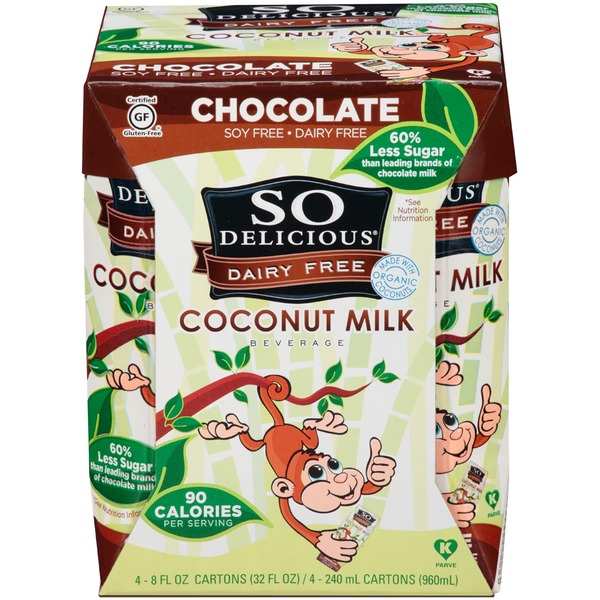 So Delicious Dairy Free Chocolate Coconut Milk