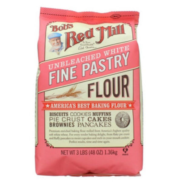 Bob's Red Mill Fine Unbleached White Pastry Flour