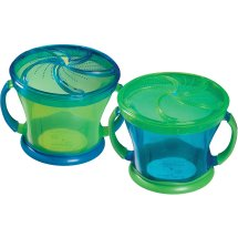 Munchkin Snack Catchers BPA-Free 2 Pack- Colors/Style may vary