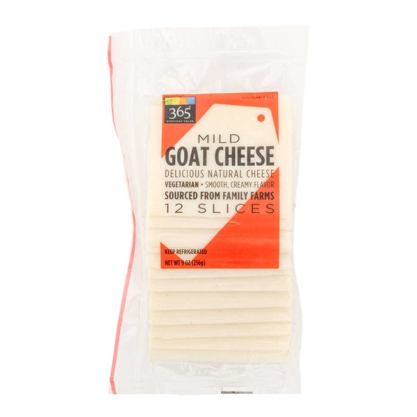 365 Mild Goat Cheese Slices
