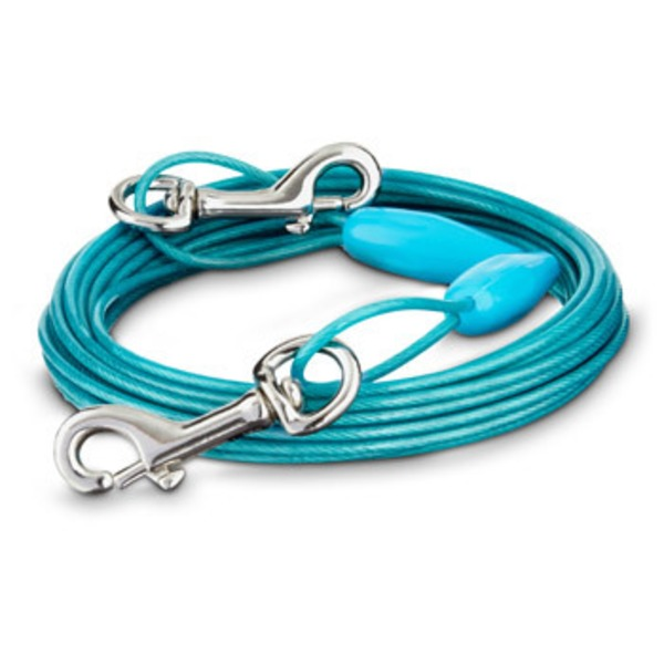 You & Me Small Free to Flex Dog Tie-Out Cable