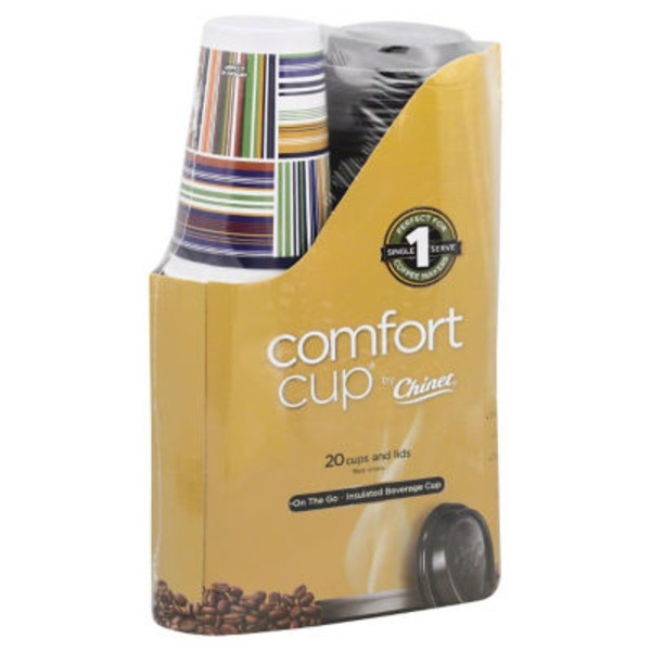 Comfort Cup By Chinet Cups and Lids