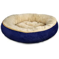 Petco Textured Round Cat Bed In Pearl 20