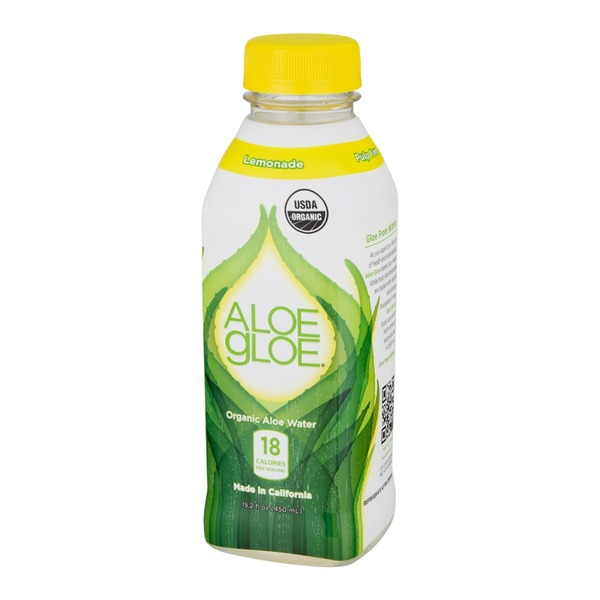 Aloe Gloe Organic Aloe Water Lemonade