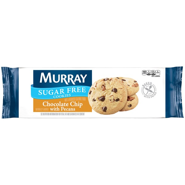 Murray Sugar Free Chocolate Chip with Pecans Cookies