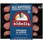 Aidells® Smoked Chicken Sausage, Chicken & Apple, 12 oz. (4 Fully Cooked Links)