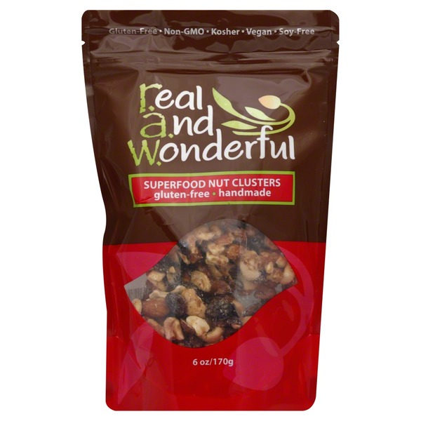 Real and Wonderful Nut Clusters, Superfood