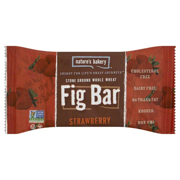 Nature's Bakery Fig Bar, Strawberry, Twin Pack