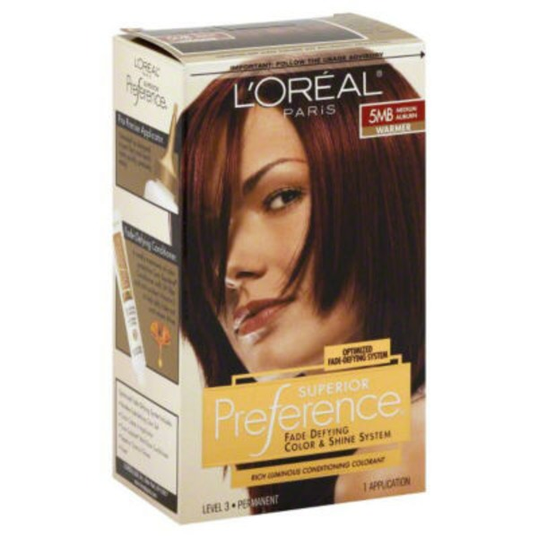Superior Preference Warmer 5MB Medium Auburn Hair Color
