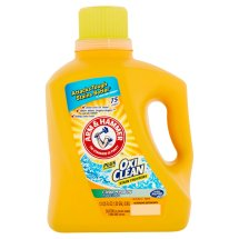 Arm & Hammer Plus the Power of Oxi Clean Stain Fighters Clean Meadow Detergent, 75 loads 131.25fl oz