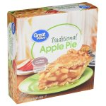 Great Value Traditional Apple Pie, 34 oz