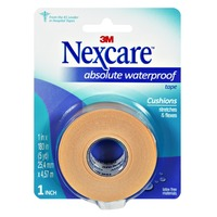 Nexcare Absolute Waterproof 1 Inch Cushions Tape
