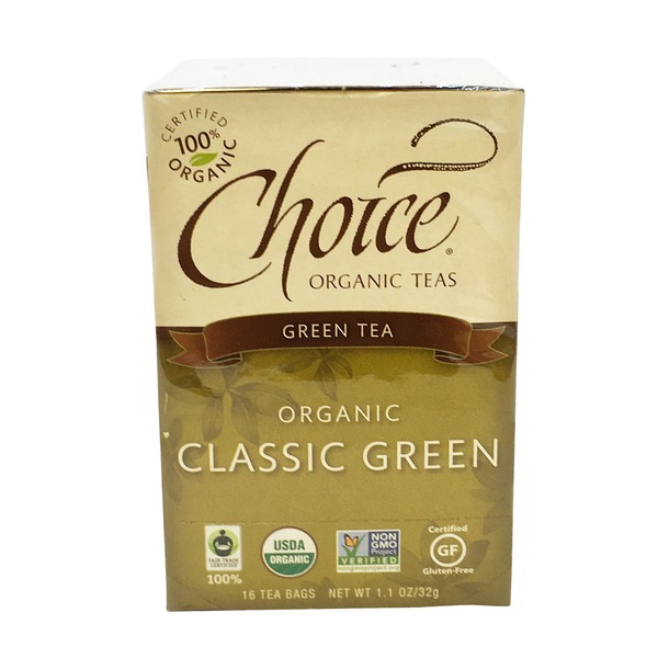 Choice Organic Teas Organic Classic Green Tea
