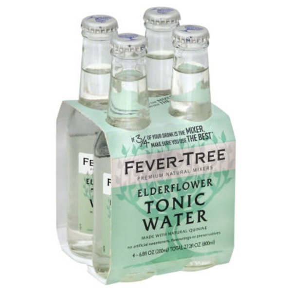 Fever-Tree Elderflower Tonic Water - 4 CT