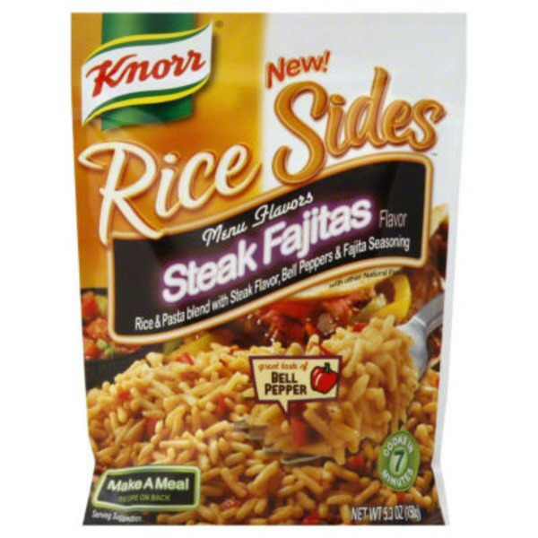 Knorr Steak Fajitas Rice Side Dish