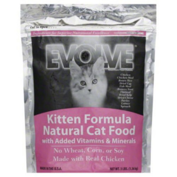 Evolve Kitten Formula Natural Cat Food