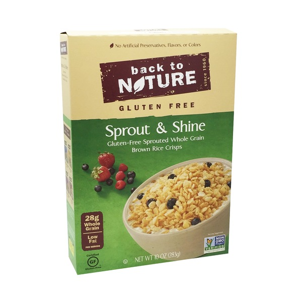 Back to Nature Sprout & Shine Gluten Free Cereal