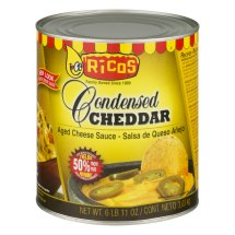 Ricos: Cheddar Condensed Ages Cheese Sauce, 107 oz